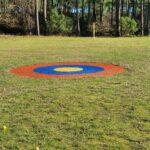 cible de practice target 4m