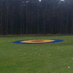 cible de practice de 8m tricolore