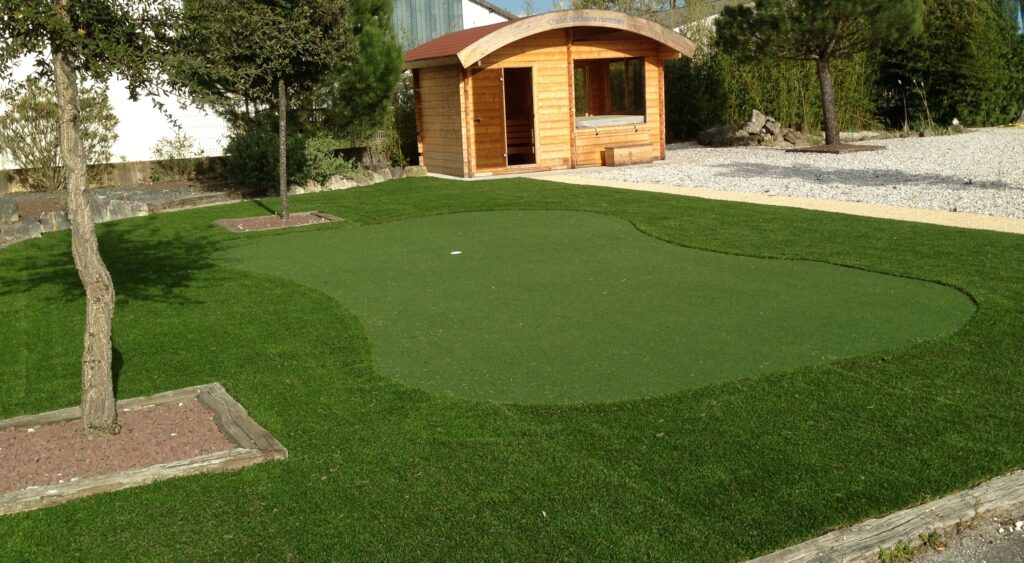 putting green gazon synthétique st jean d'illac 33